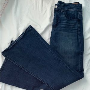 American Eagle Bell Bottom Jeans